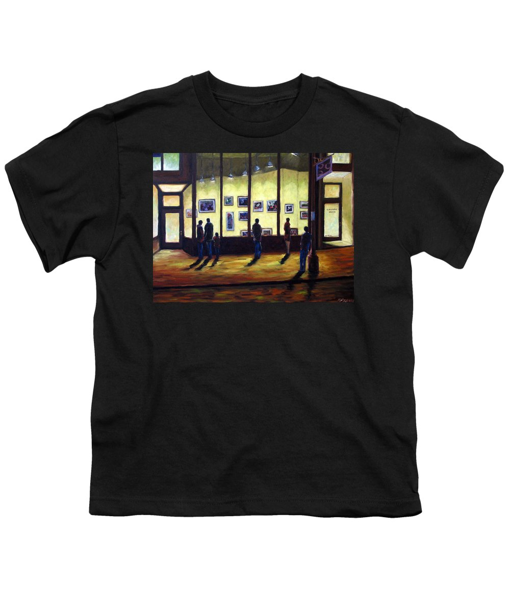 Urban Youth T-Shirt featuring the painting Pranke by Richard T Pranke