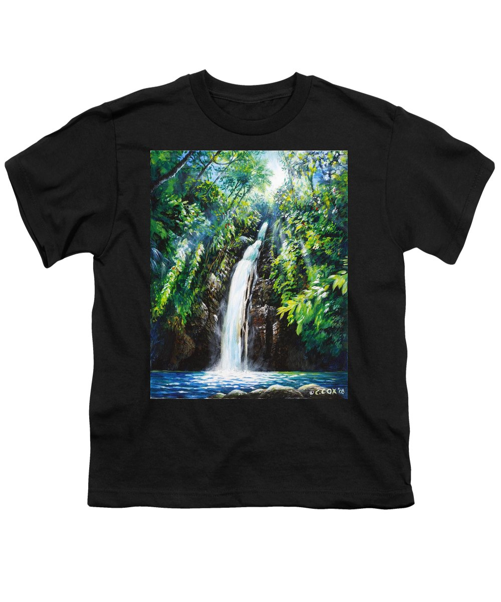 Chris Cox Youth T-Shirt featuring the painting Pristine by Christopher Cox