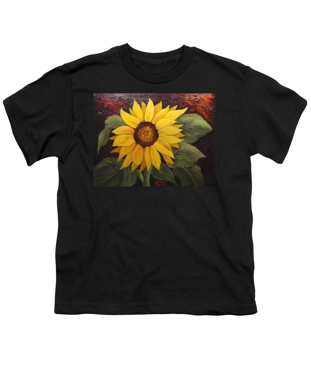 Still Life Youth T-Shirt featuring the painting Pure Sunshine Sold by Susan Dehlinger