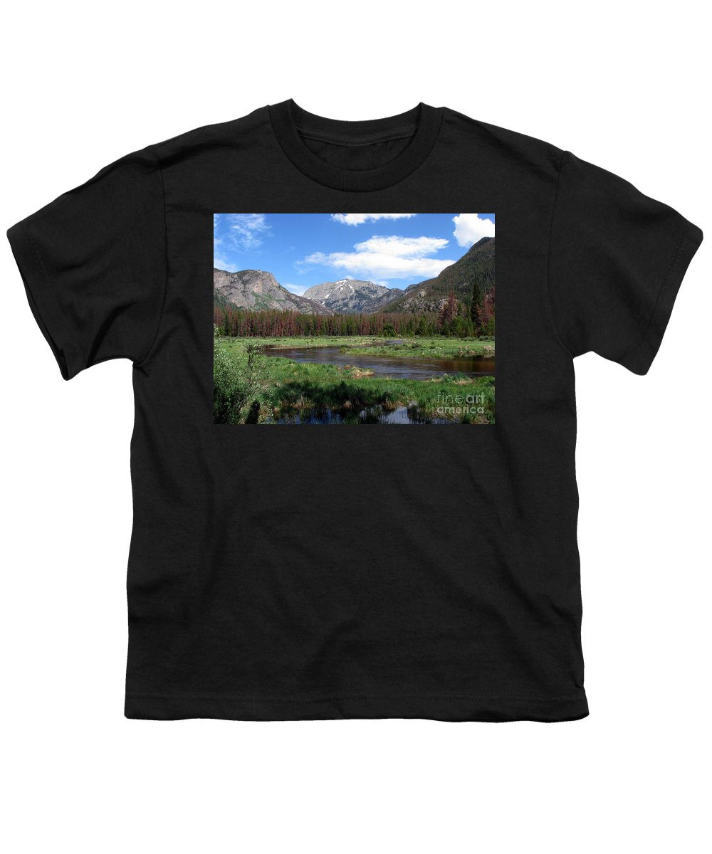 Nature Youth T-Shirt featuring the photograph Quiet by Amanda Barcon