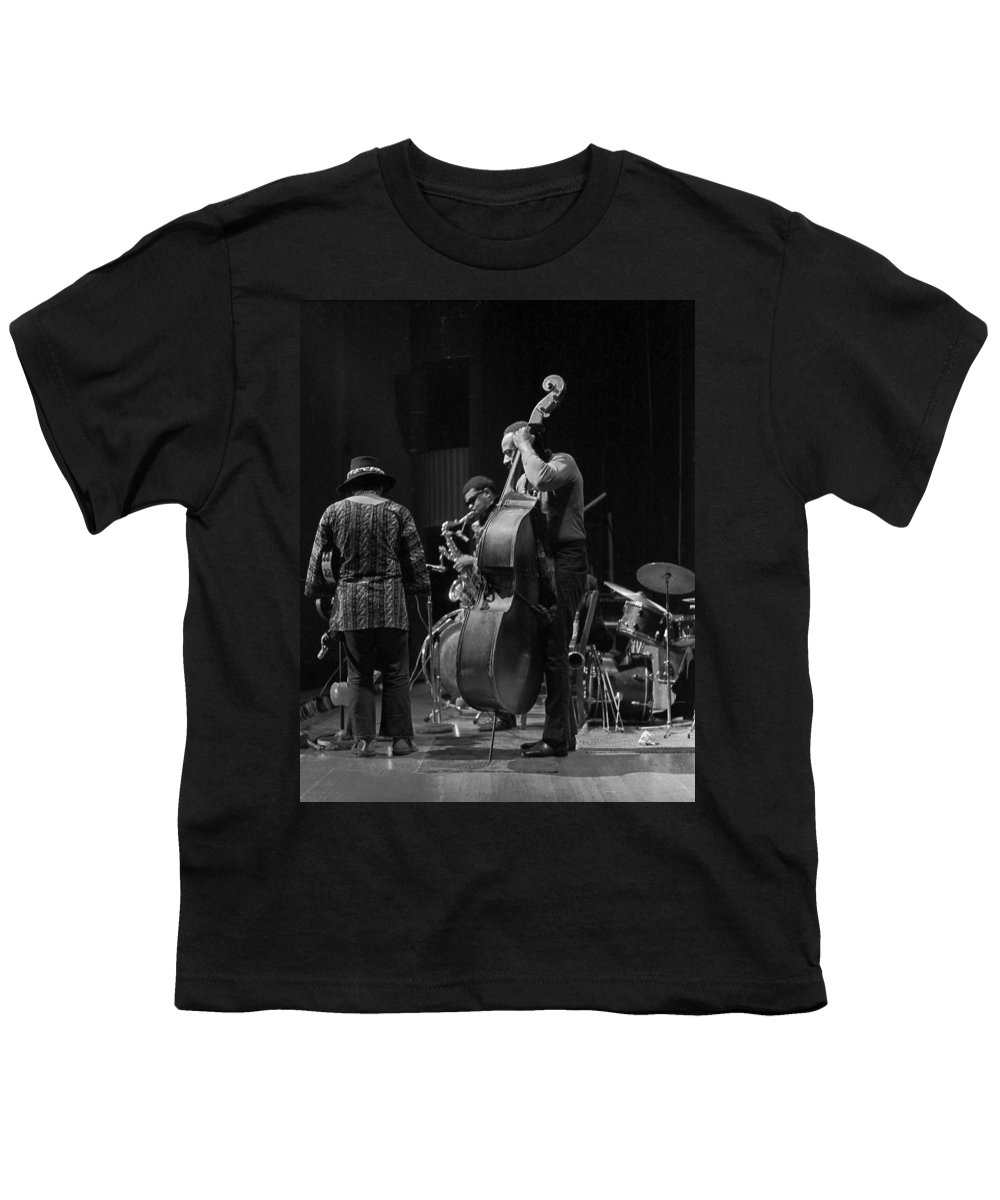 Rahsaan Roland Kirk Youth T-Shirt featuring the photograph Rahsaan Roland Kirk 2 by Lee Santa