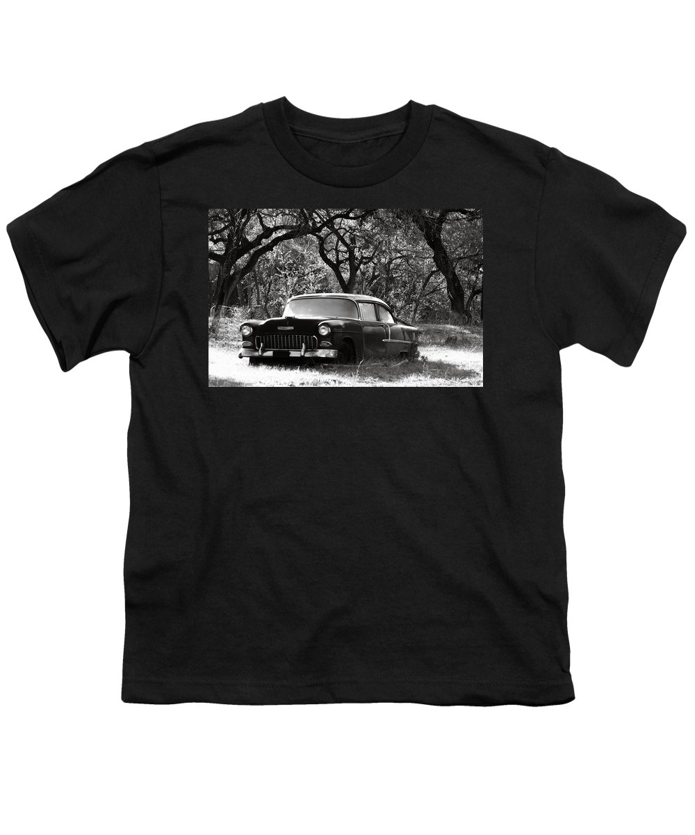 Americana Youth T-Shirt featuring the photograph Resting Amongst The Oaks by Marilyn Hunt