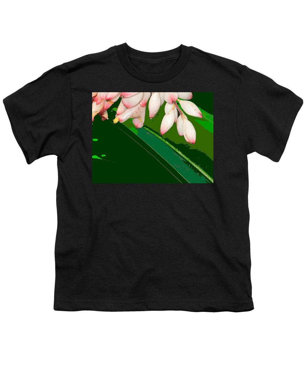 Flowers Youth T-Shirt featuring the photograph Romney White by Ian MacDonald