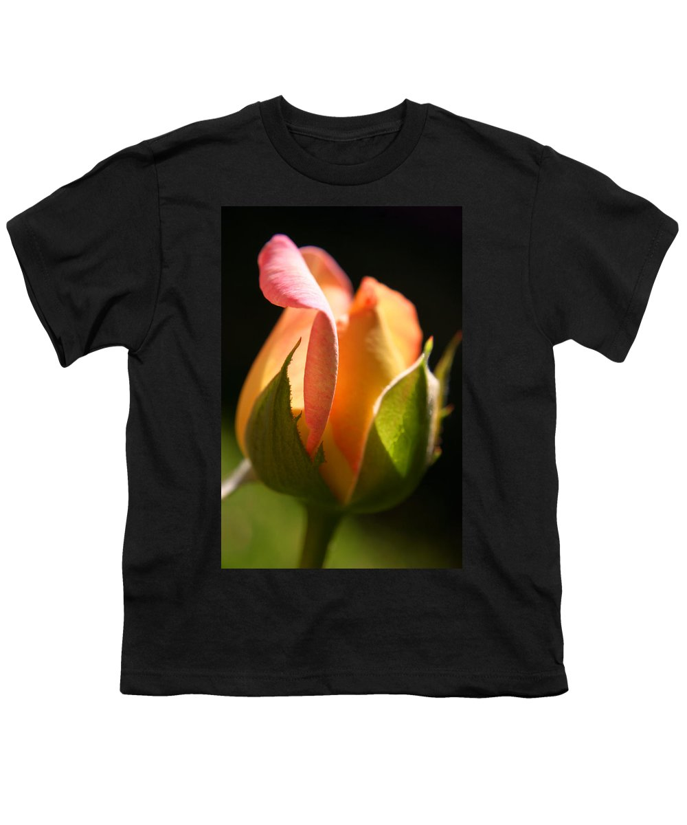 Rosebud Youth T-Shirt featuring the photograph Rosebud by Ralph A Ledergerber-Photography
