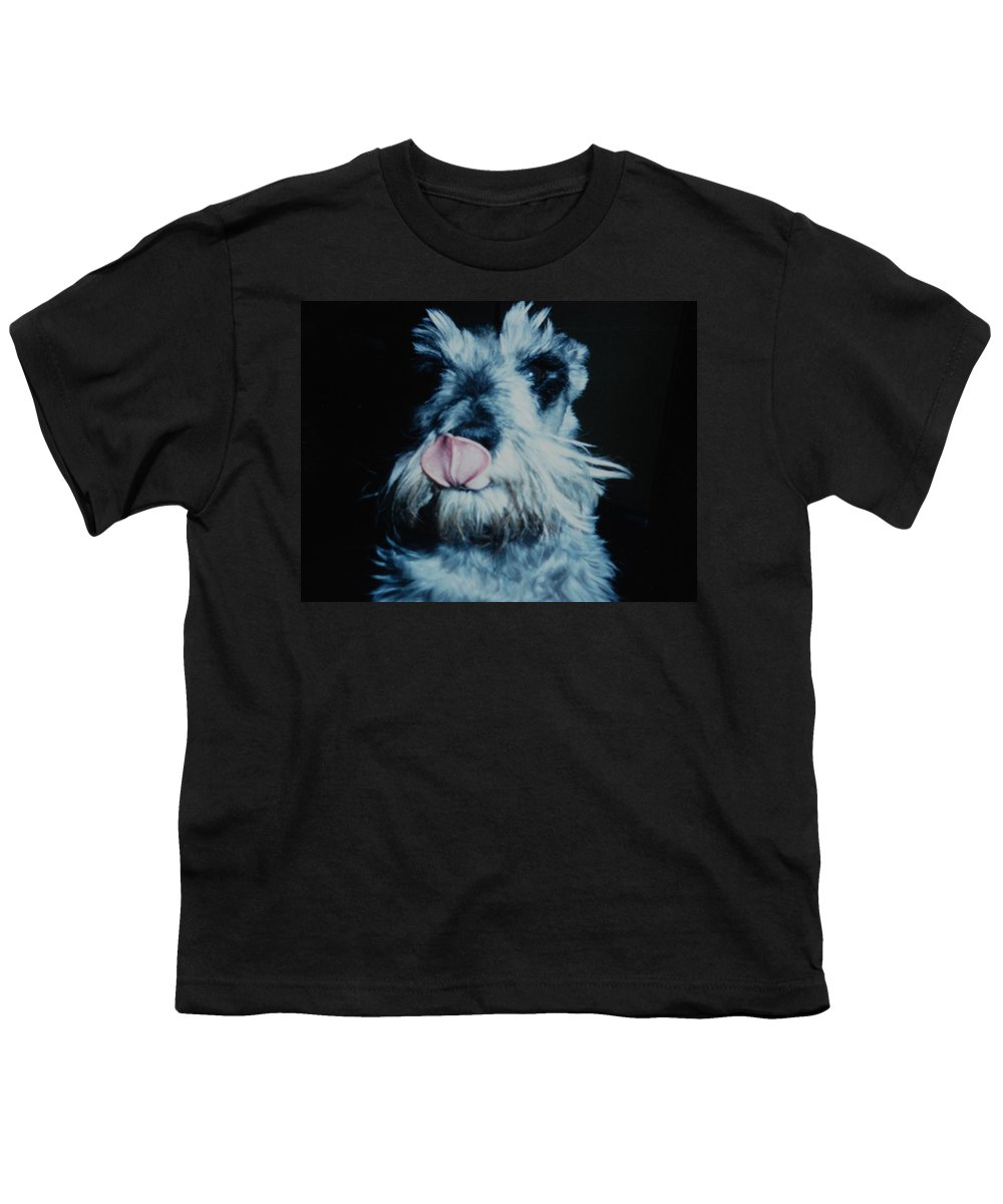 Dogs Youth T-Shirt featuring the photograph Sam The Fat Cow by Rob Hans