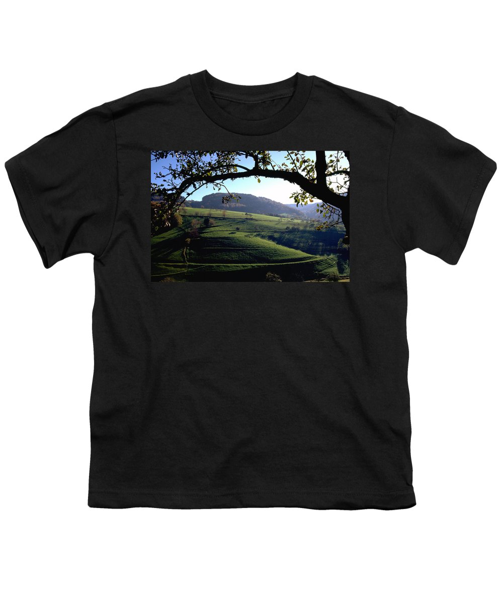 Schwarzwald Youth T-Shirt featuring the photograph Schwarzwald by Flavia Westerwelle
