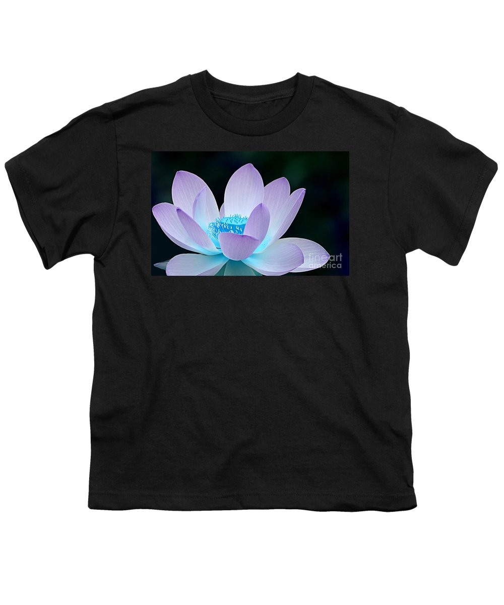 Flower Youth T-Shirt featuring the photograph Serene by Jacky Gerritsen