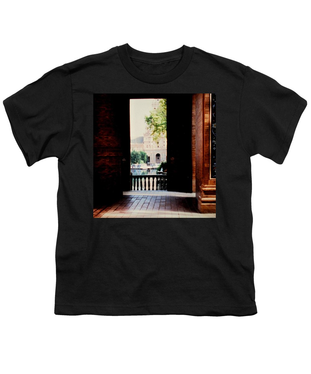 Seville Youth T-Shirt featuring the photograph Seville by Ian MacDonald