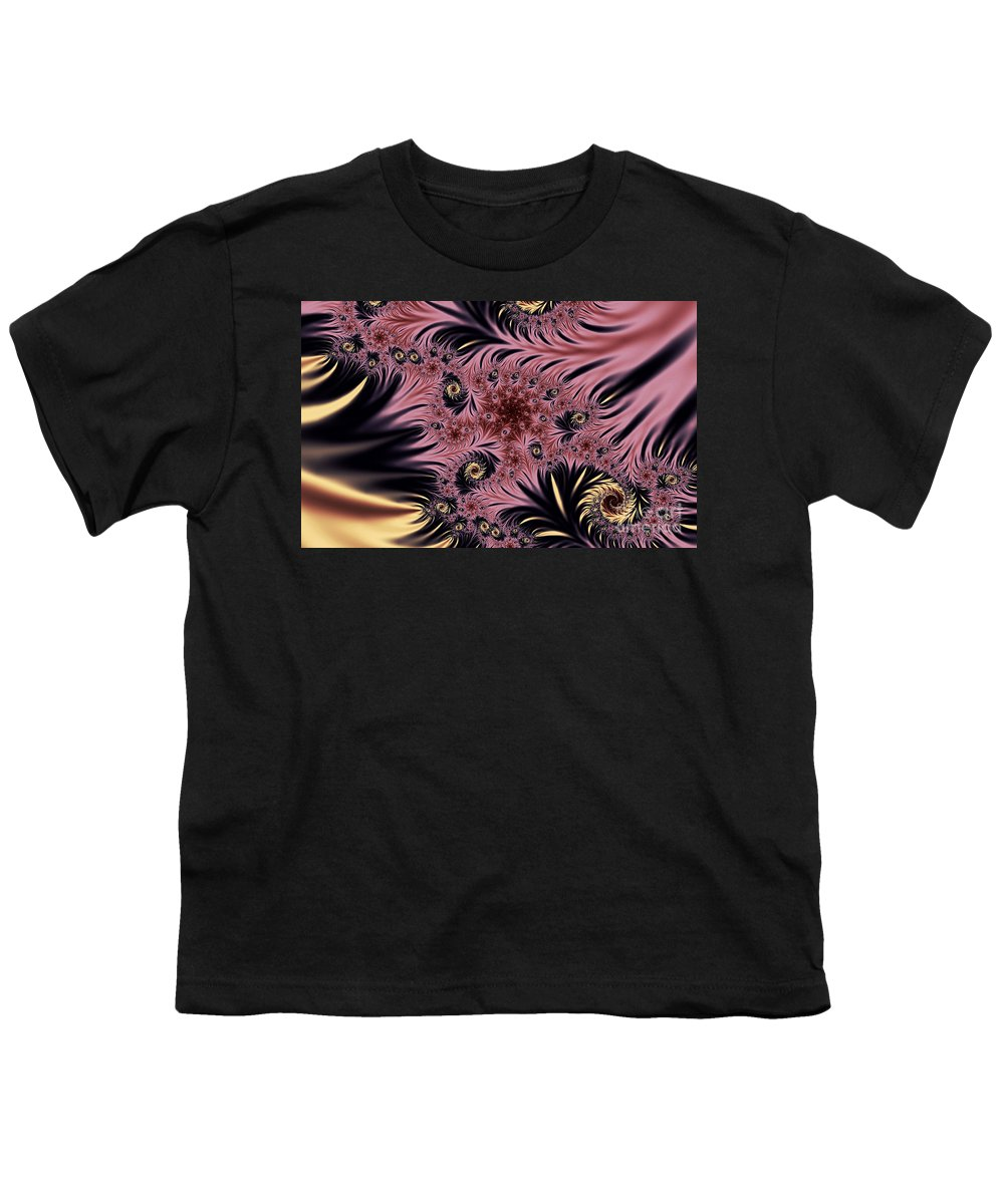 Clay Youth T-Shirt featuring the digital art Silken Pleasures by Clayton Bruster