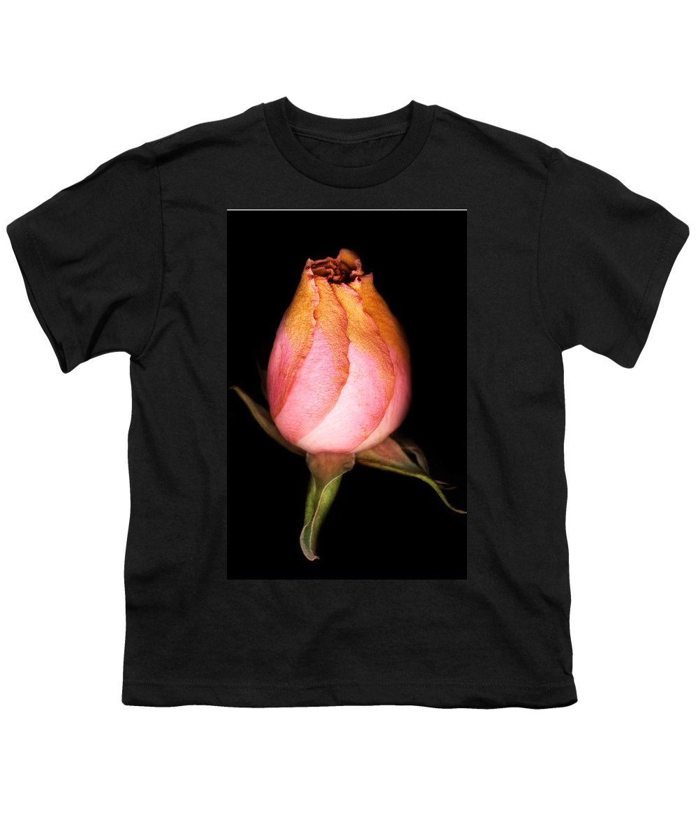 Rose Youth T-Shirt featuring the photograph single Rose by Marilyn Hunt