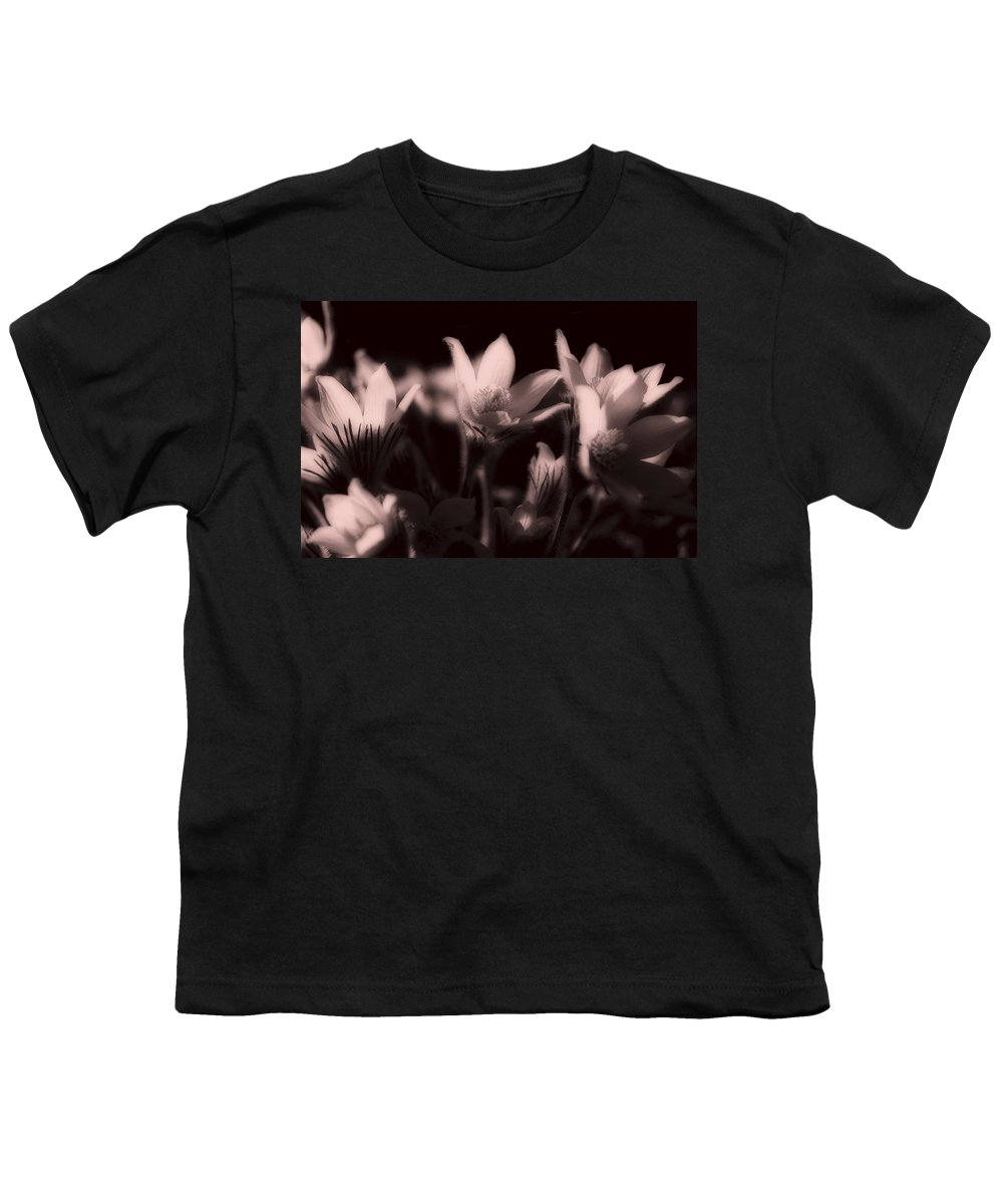 Flowers Youth T-Shirt featuring the photograph Sleepy Flowers 2 by Marilyn Hunt