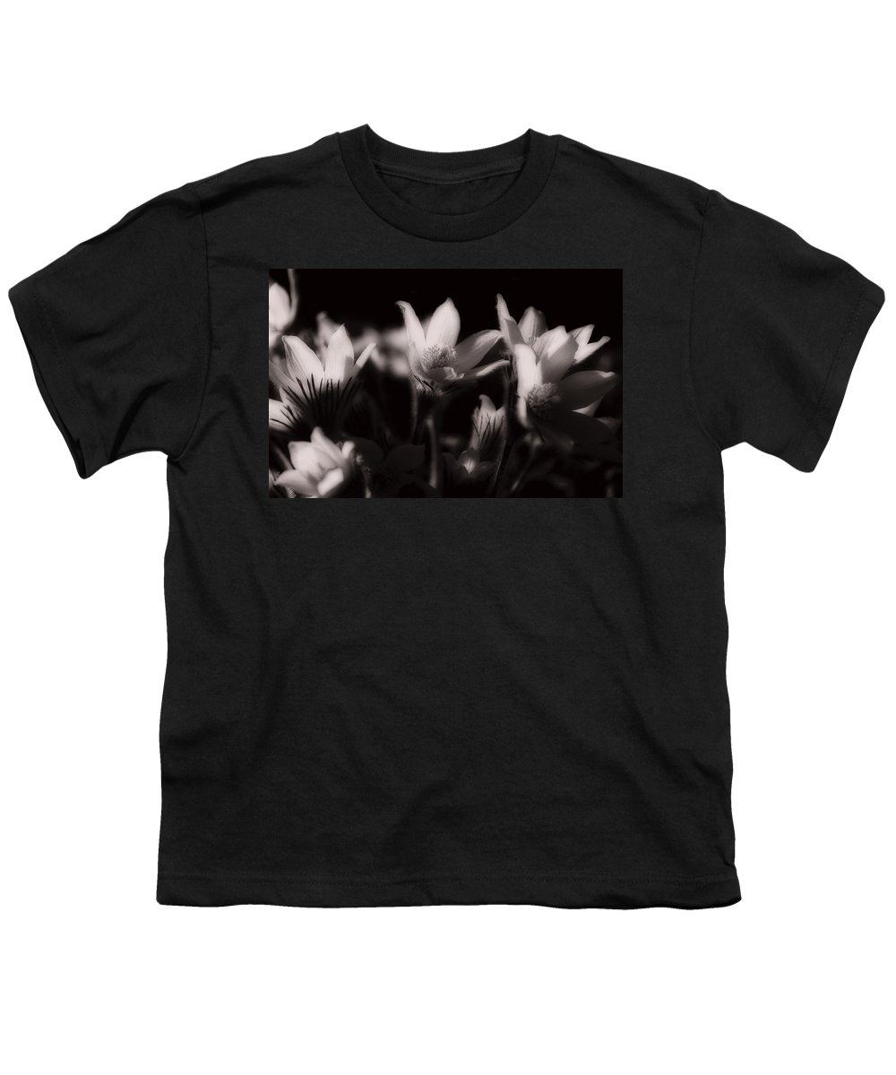 Flowers Youth T-Shirt featuring the photograph Sleepy Flowers by Marilyn Hunt
