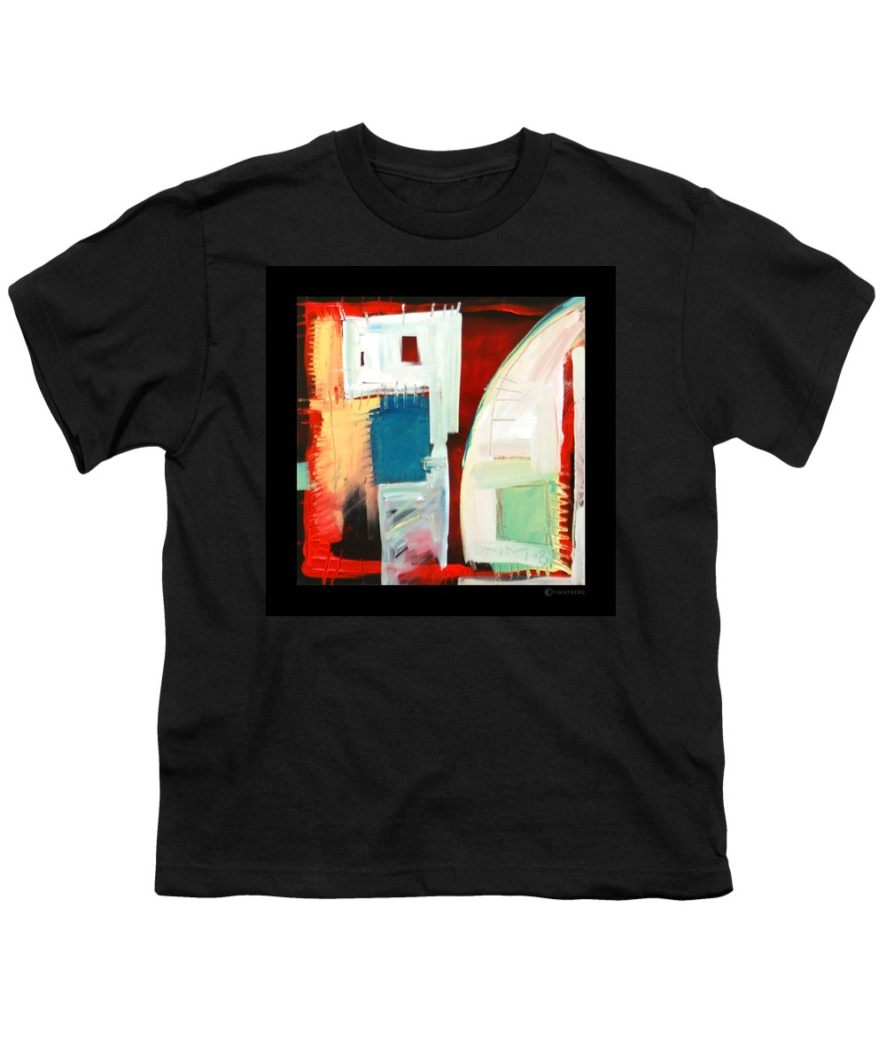 Color Youth T-Shirt featuring the painting Smilin by Tim Nyberg