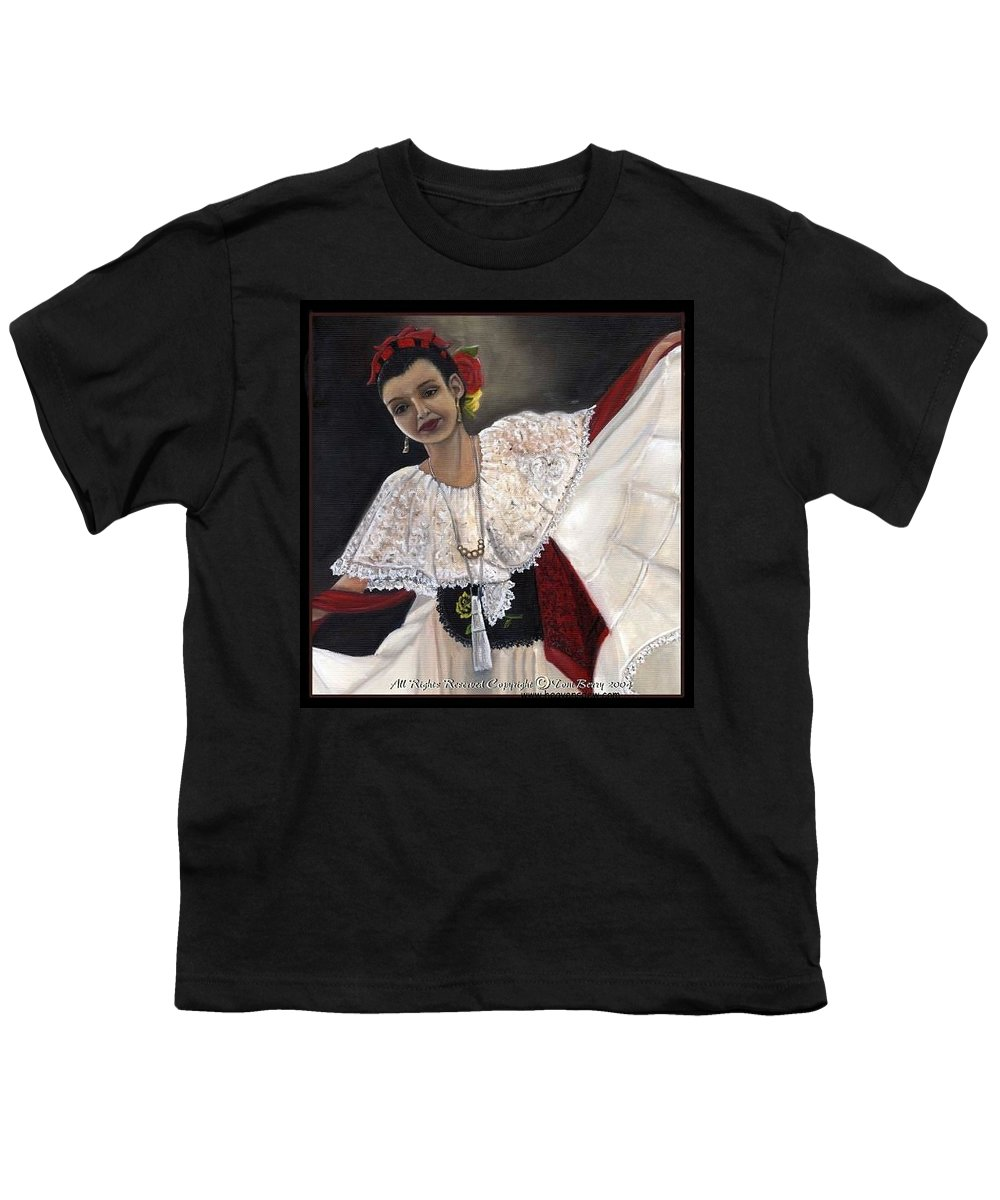 Youth T-Shirt featuring the painting Solita by Toni Berry