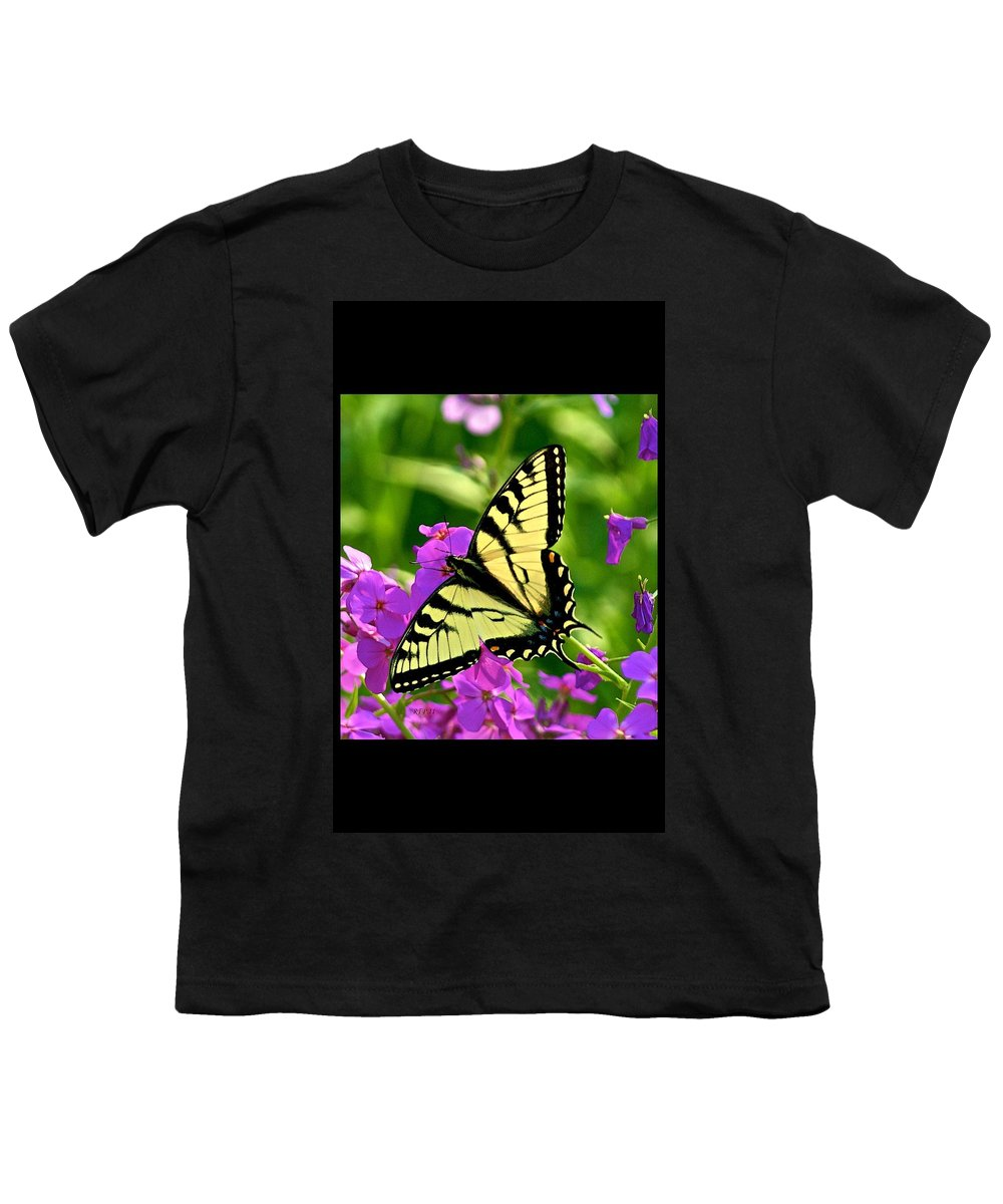 Butterfly Youth T-Shirt featuring the photograph Spring Glory by Robert Pearson