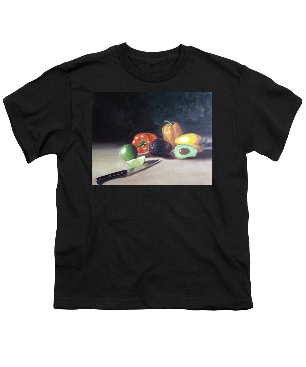 Youth T-Shirt featuring the painting Still-life by Toni Berry