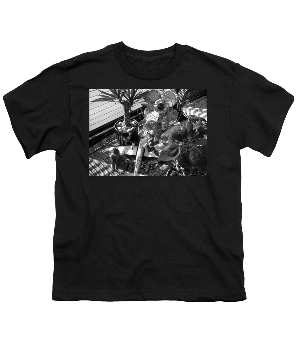 Still Life Youth T-Shirt featuring the photograph Still Life With Salamander by Charles Stuart