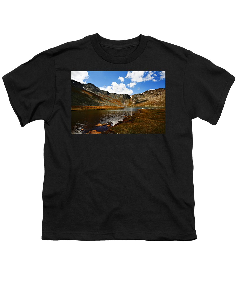 Travel Youth T-Shirt featuring the photograph Summit Lake Colorado by Marilyn Hunt