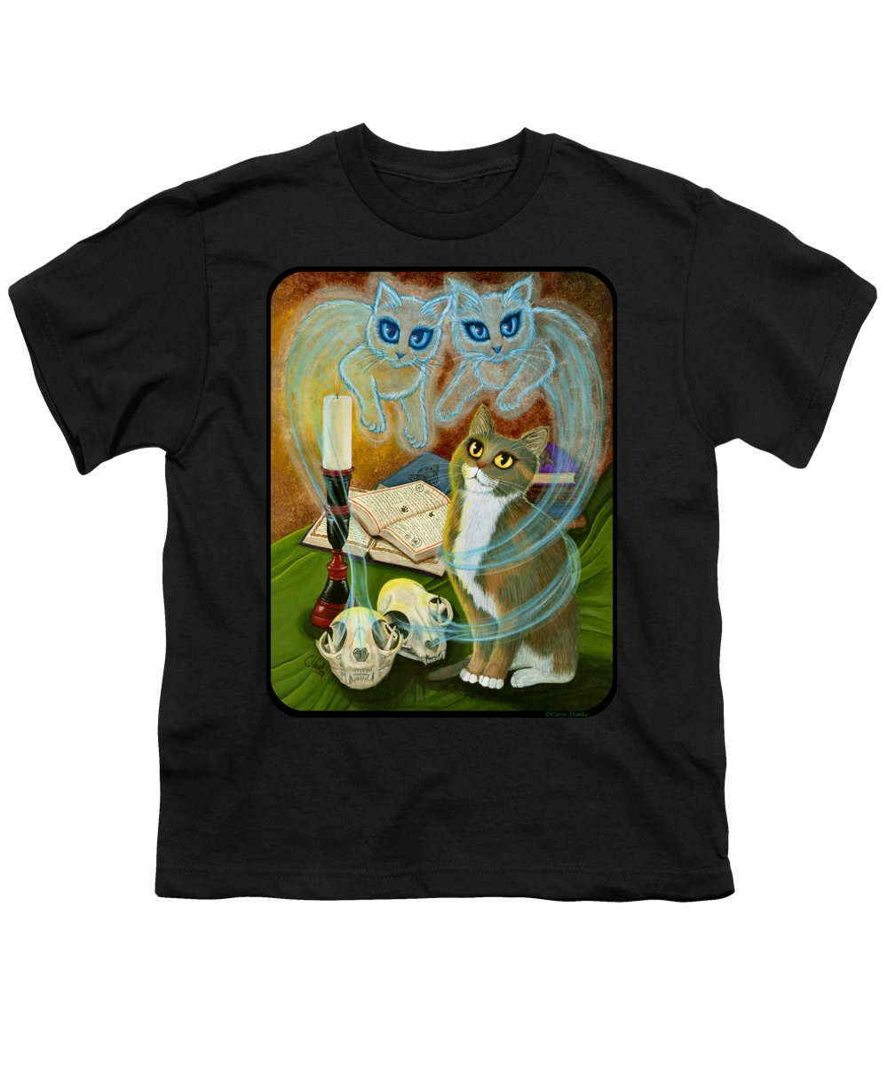 Calico Cat Youth T-Shirts