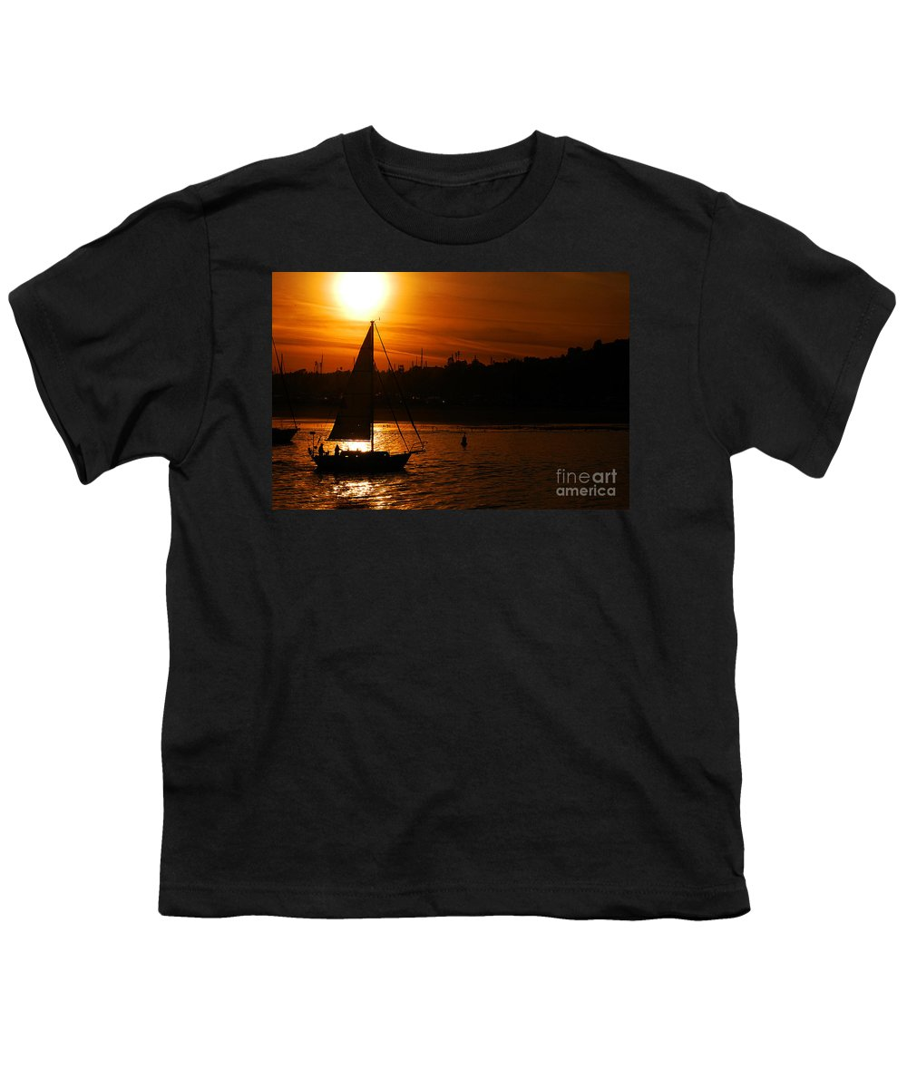 Clay Youth T-Shirt featuring the photograph Sunset In Southern California by Clayton Bruster