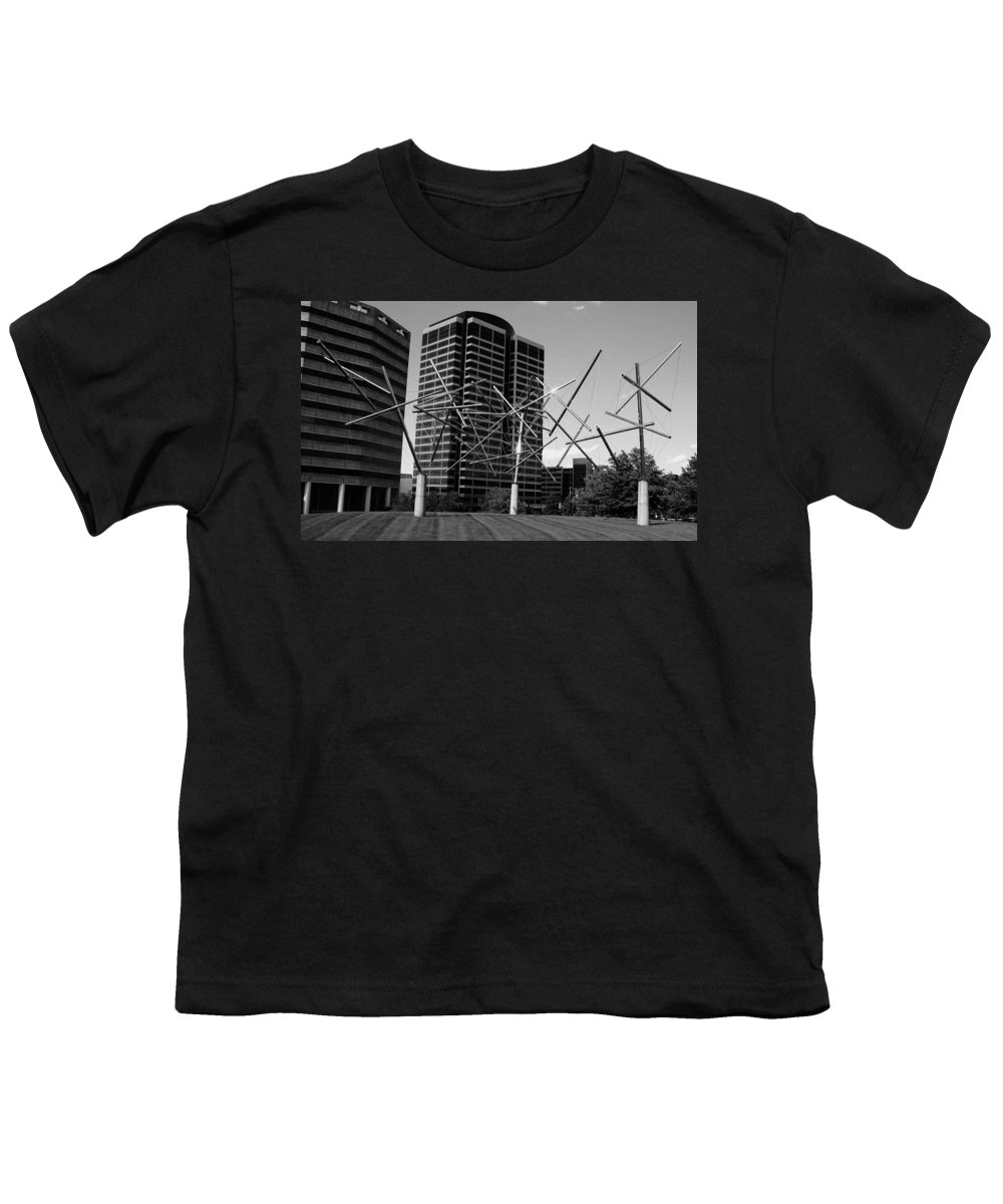 Metal Youth T-Shirt featuring the photograph Suspended by Angus Hooper Iii