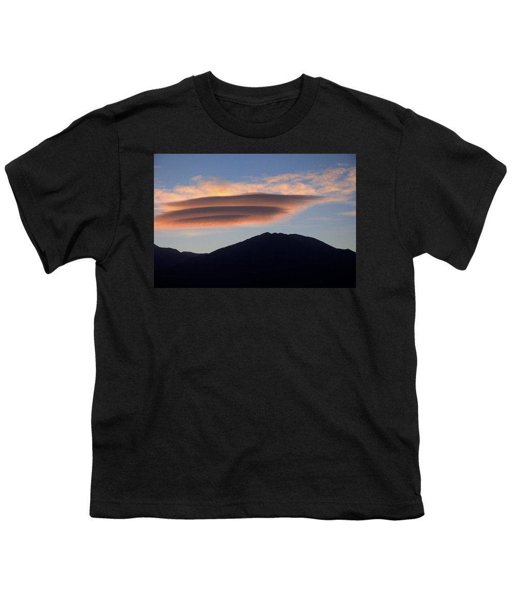 Taos Youth T-Shirt featuring the photograph Taos Sunset by Jerry McElroy
