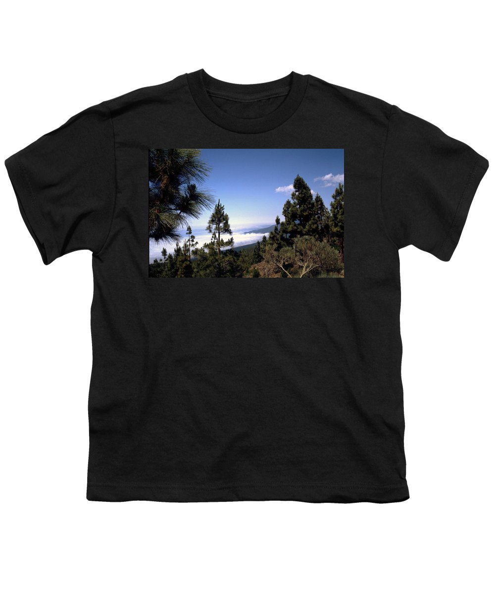 Tenerife Youth T-Shirt featuring the photograph Tenerife by Flavia Westerwelle