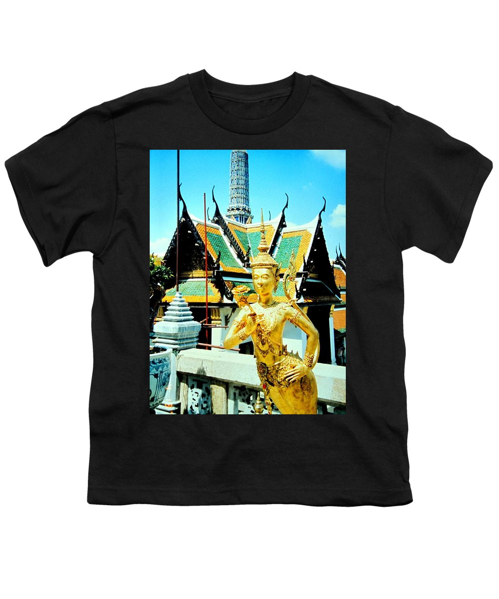 Bangcock Youth T-Shirt featuring the photograph Thailand by Ian MacDonald