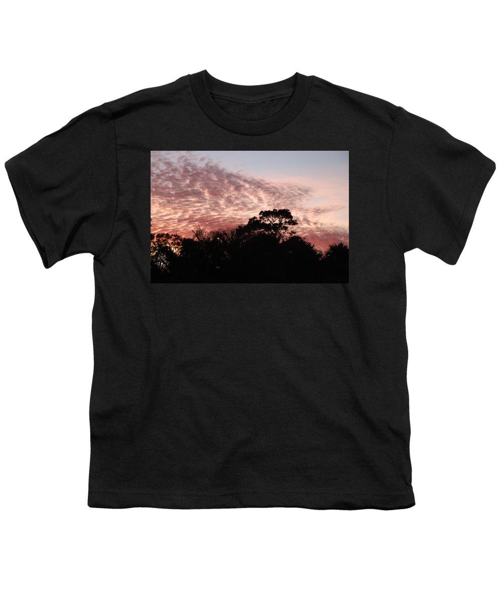 Sky Youth T-Shirt featuring the photograph Thanksgiving Sky by Rob Hans