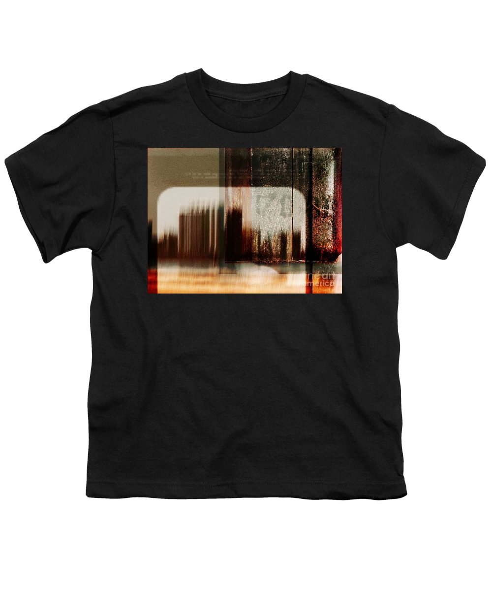 Dipasquale Youth T-Shirt featuring the photograph That Day In The City When We Lost Track Of Time by Dana DiPasquale