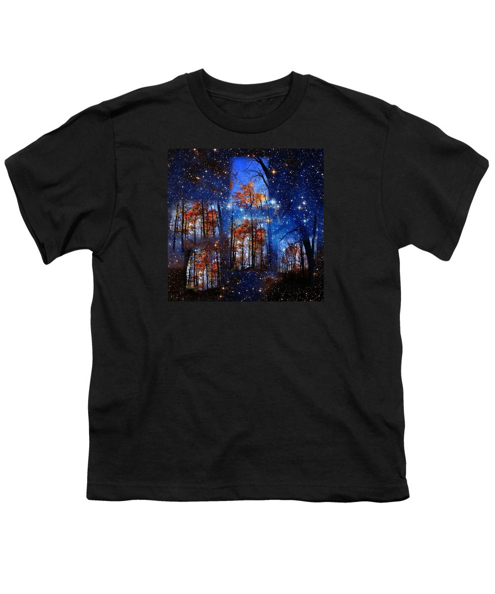 Deep Space Youth T-Shirt featuring the photograph The Face Of Forever by Dave Martsolf