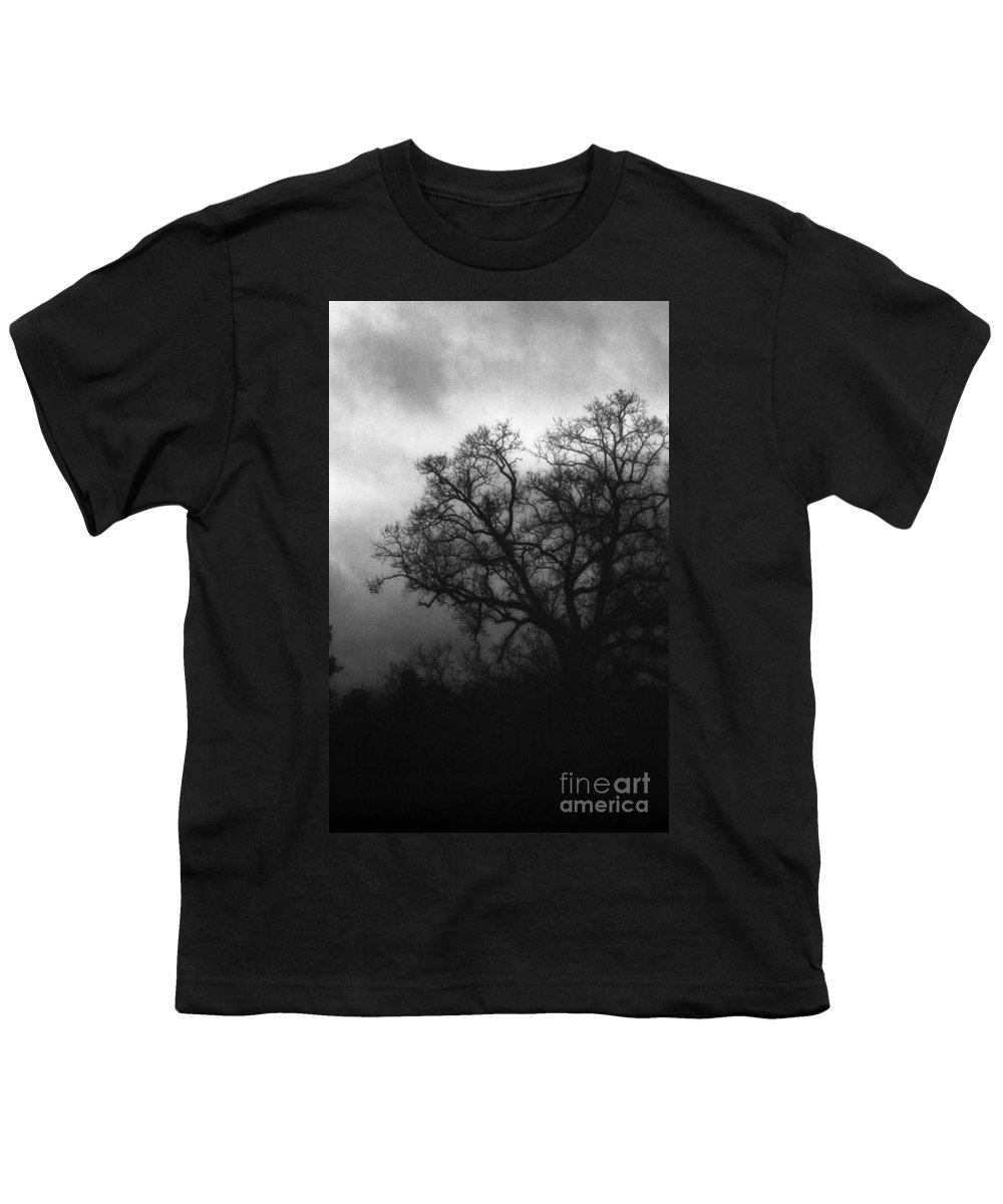 Eerie Youth T-Shirt featuring the photograph The Other Side by Richard Rizzo