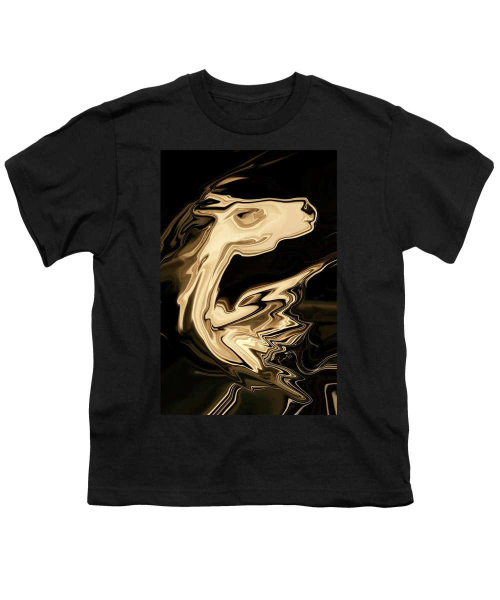 Art Youth T-Shirt featuring the digital art The Young Pegasus by Rabi Khan