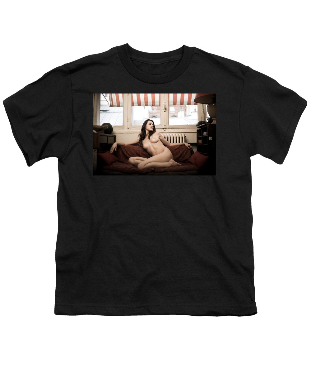 Sensual Youth T-Shirt featuring the photograph Timeless by Olivier De Rycke