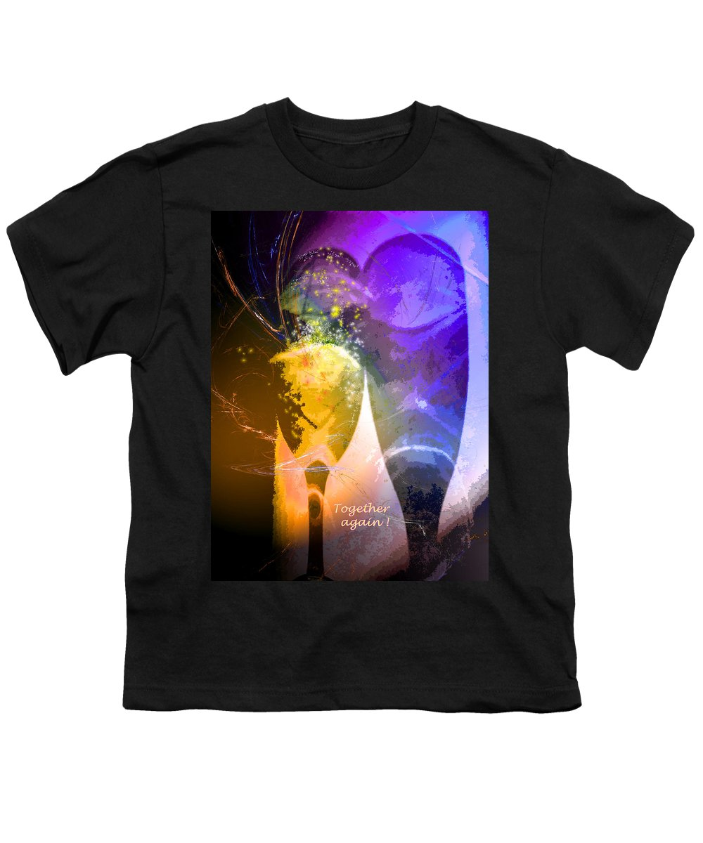Fantasy Youth T-Shirt featuring the photograph Together Again by Miki De Goodaboom