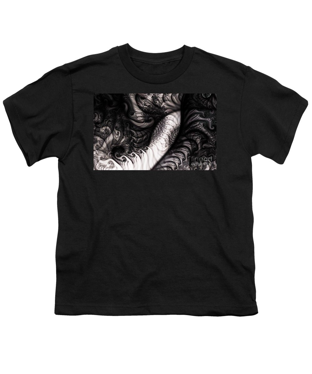 Clay Youth T-Shirt featuring the digital art Traffic Jam by Clayton Bruster