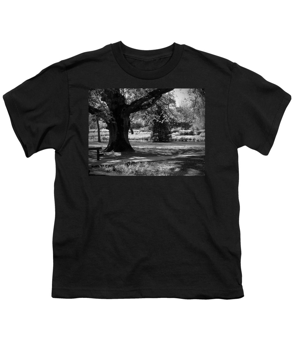 Irish Youth T-Shirt featuring the photograph Tralee Town Park Ireland by Teresa Mucha