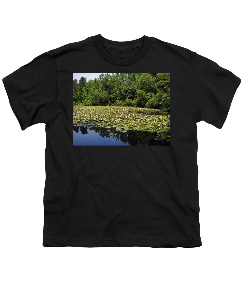 Tranquility Youth T-Shirt featuring the photograph Tranquility by Flavia Westerwelle