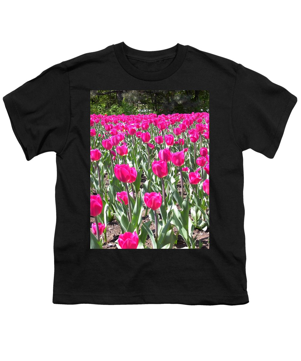 Charity Youth T-Shirt featuring the photograph Tulips by Mary-Lee Sanders