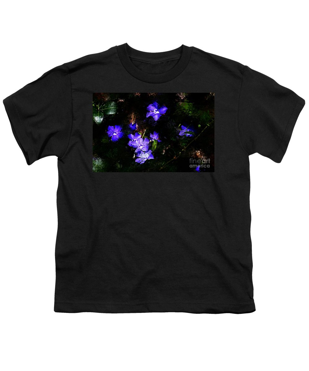 Spring Youth T-Shirt featuring the photograph Violet by David Lane