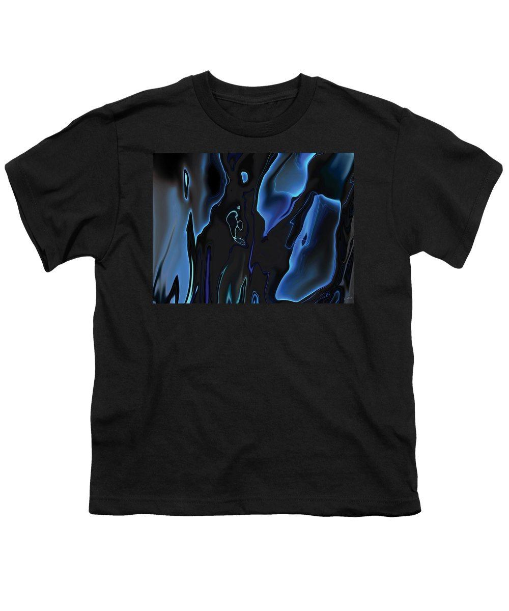 Abstract Youth T-Shirt featuring the digital art Virtual Life 1 by Rabi Khan