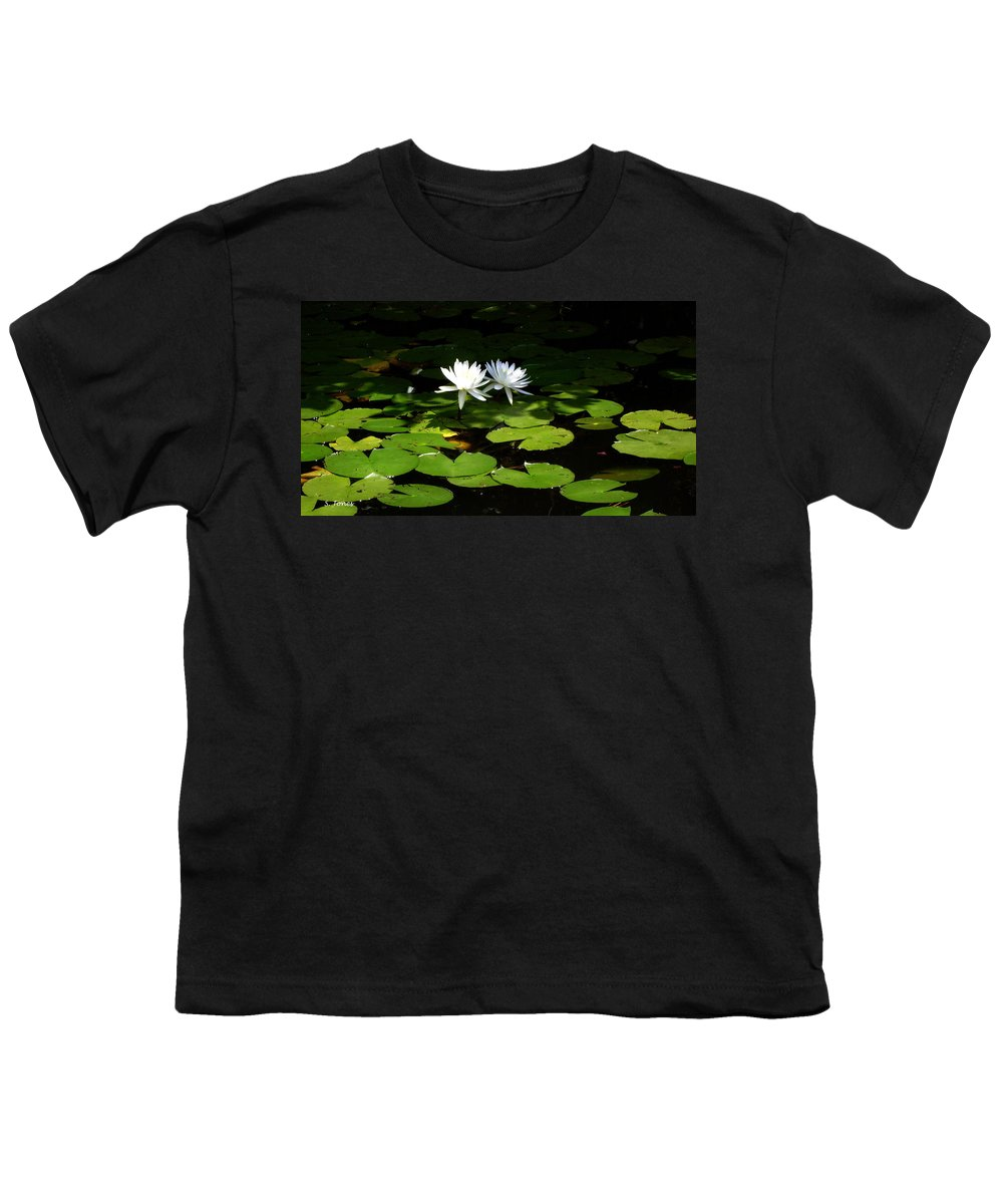Water Youth T-Shirt featuring the photograph Wading Fairies by Shelley Jones