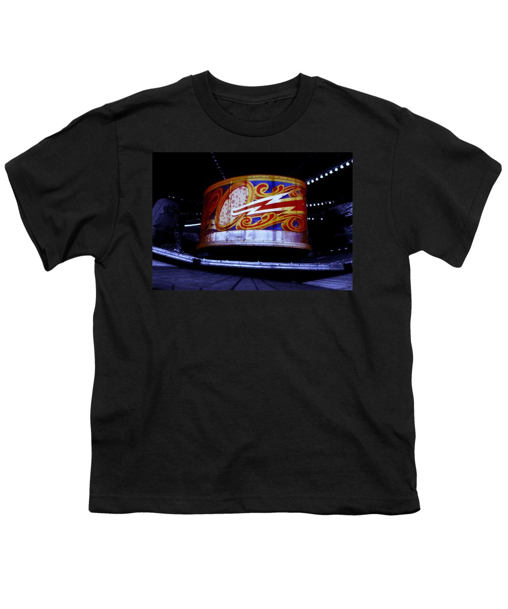 Waltzer Youth T-Shirt featuring the photograph Waltzer by Charles Stuart