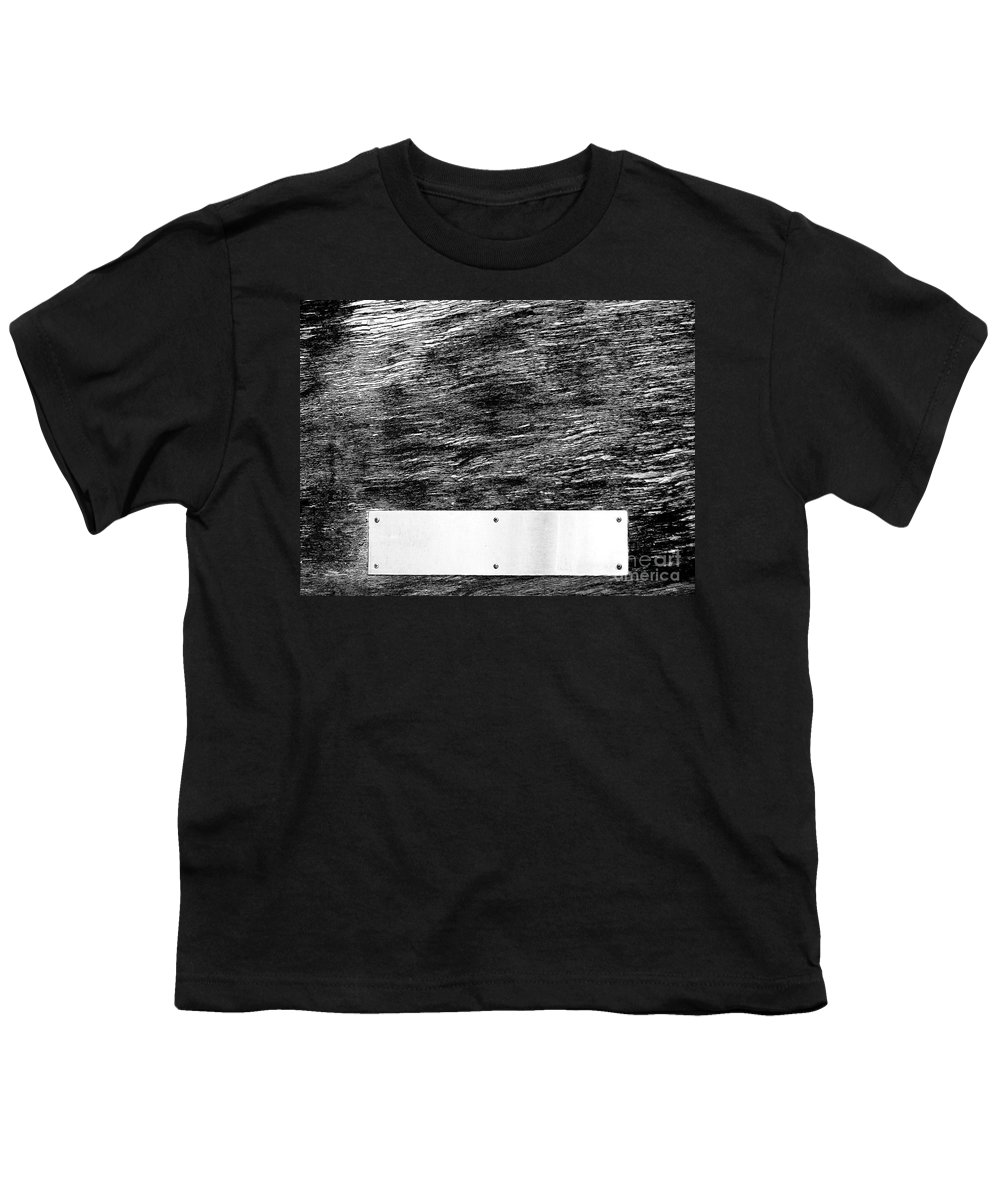 Dipasquale Youth T-Shirt featuring the photograph Weathered by Dana DiPasquale