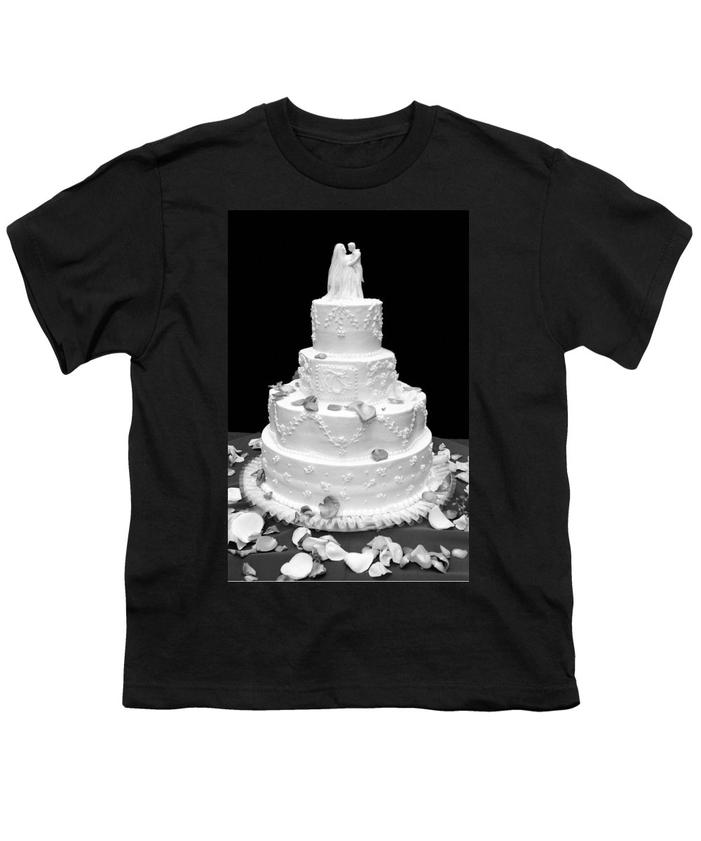 Wedding Youth T-Shirt featuring the photograph Wedding Cake by Marilyn Hunt