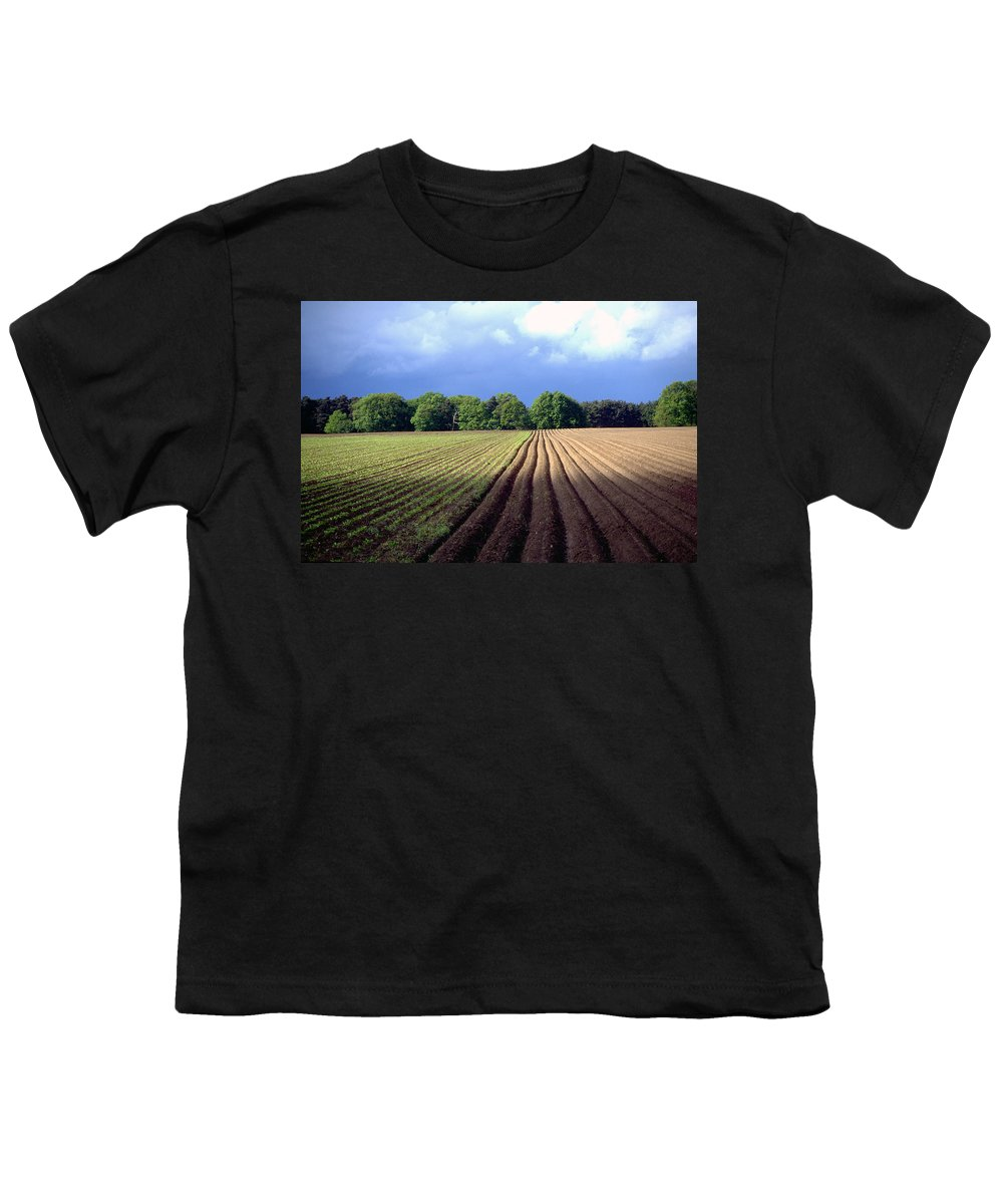Wendland Youth T-Shirt featuring the photograph Wendland by Flavia Westerwelle