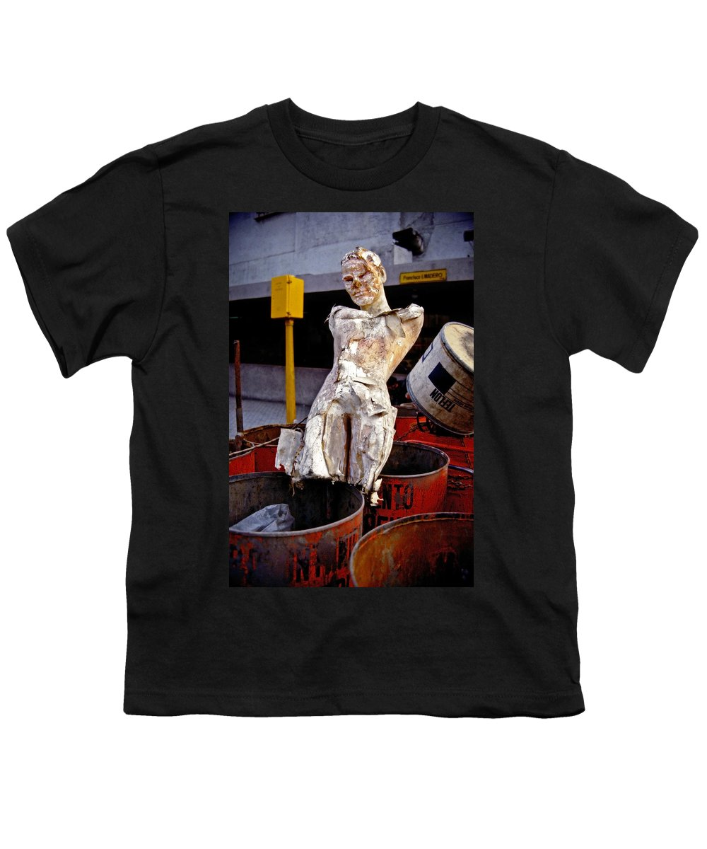 Trash Youth T-Shirt featuring the photograph White Trash by Skip Hunt