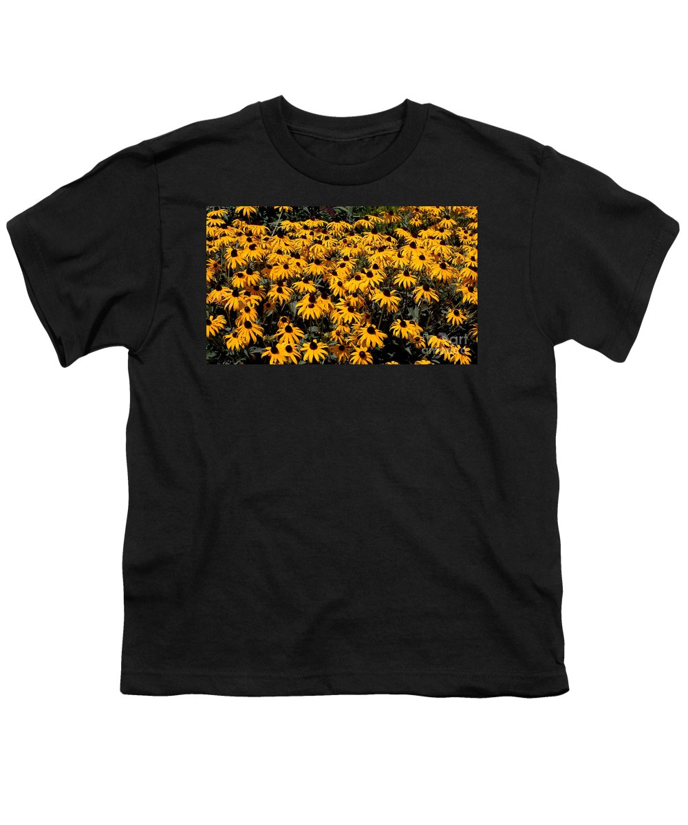 Digital Photo Youth T-Shirt featuring the photograph Yellow Is The Color Of ..... by David Lane