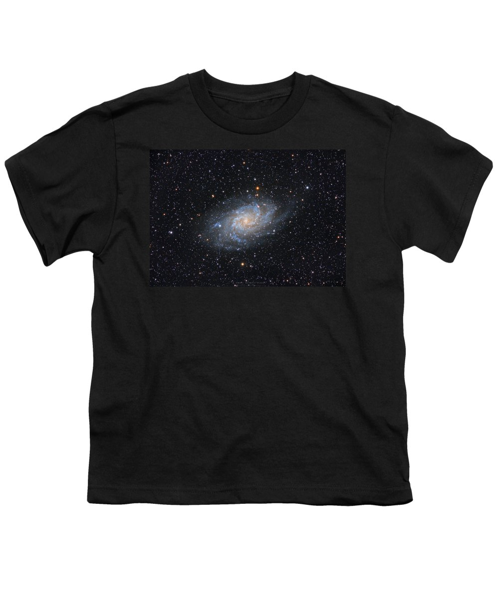 Galaxy Youth T-Shirt featuring the photograph Triangulum Galaxy by Prabhu Astrophotography