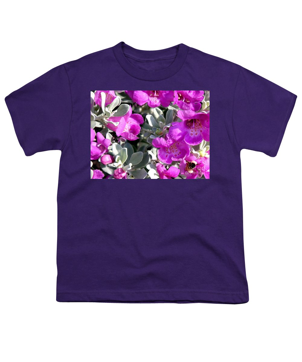 Nature Youth T-Shirt featuring the photograph Bottoms Up by Lucyna A M Green